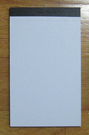 Memo Pads for 3 5/8 x 6 3/4 Loose-leaf (3)