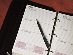 "Wilsons Leather 5-3/8"" x 8-1/2"" Planner"