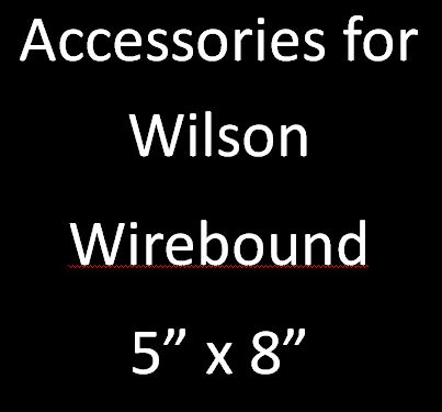 Accessories for Wilson Wirebound 5